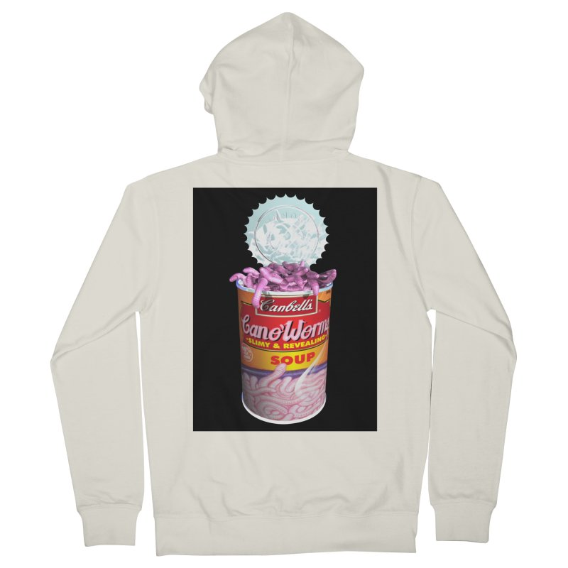 Can o' Worms Women's French Terry Zip-Up Hoody by philscarr's Artist Shop