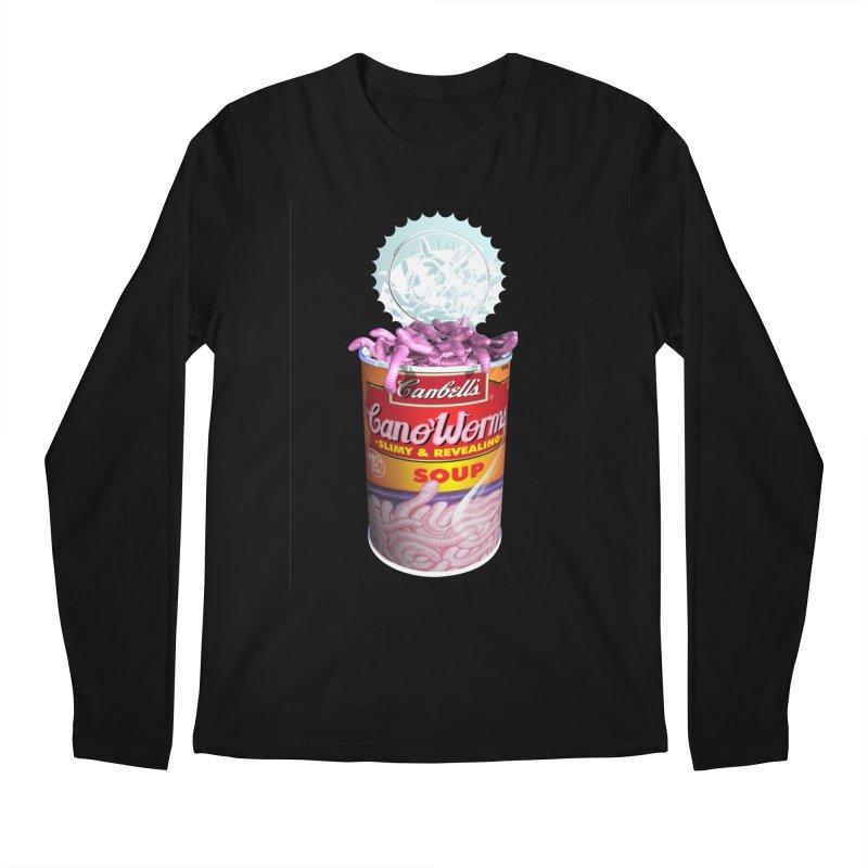 Can o' Worms Men's Regular Longsleeve T-Shirt by philscarr's Artist Shop