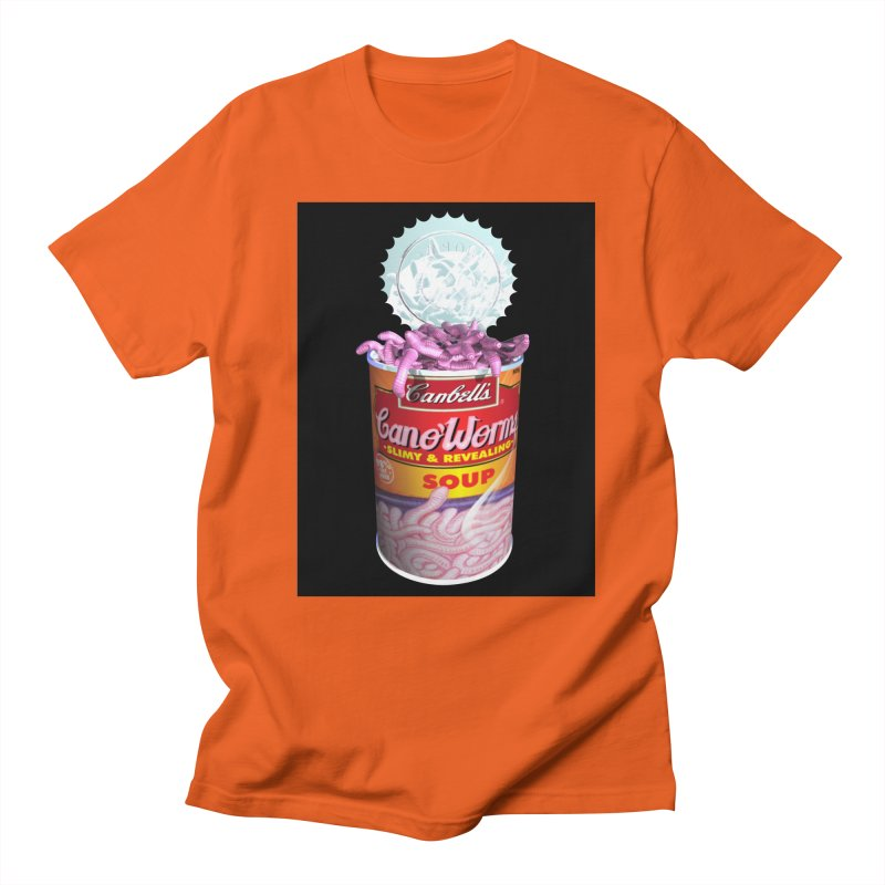 Can o' Worms Men's T-Shirt by philscarr's Artist Shop