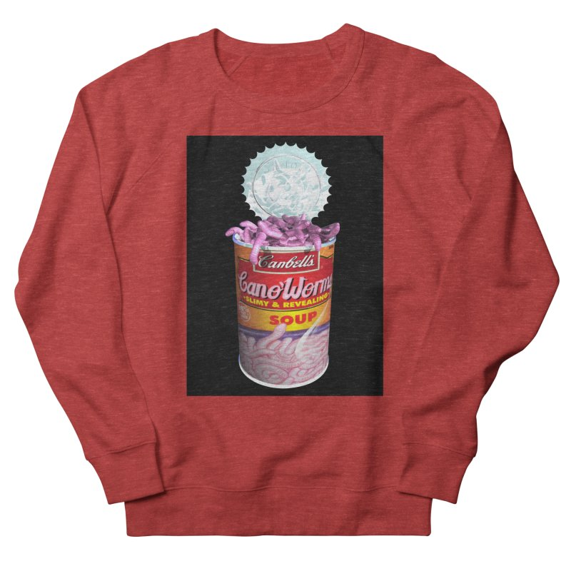 Can o' Worms Men's French Terry Sweatshirt by philscarr's Artist Shop