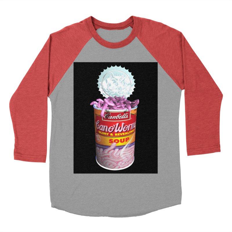 Can o' Worms Women's Baseball Triblend Longsleeve T-Shirt by philscarr's Artist Shop