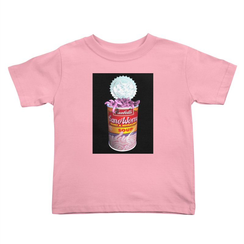 Can o' Worms Kids Toddler T-Shirt by philscarr's Artist Shop