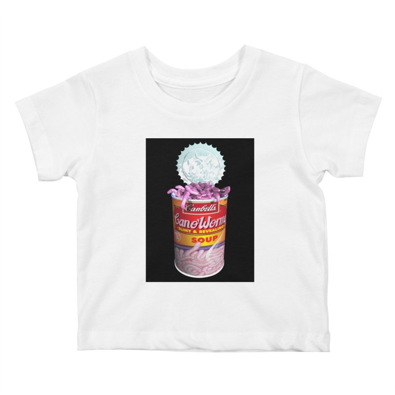 Can o' Worms Kids Baby T-Shirt by philscarr's Artist Shop