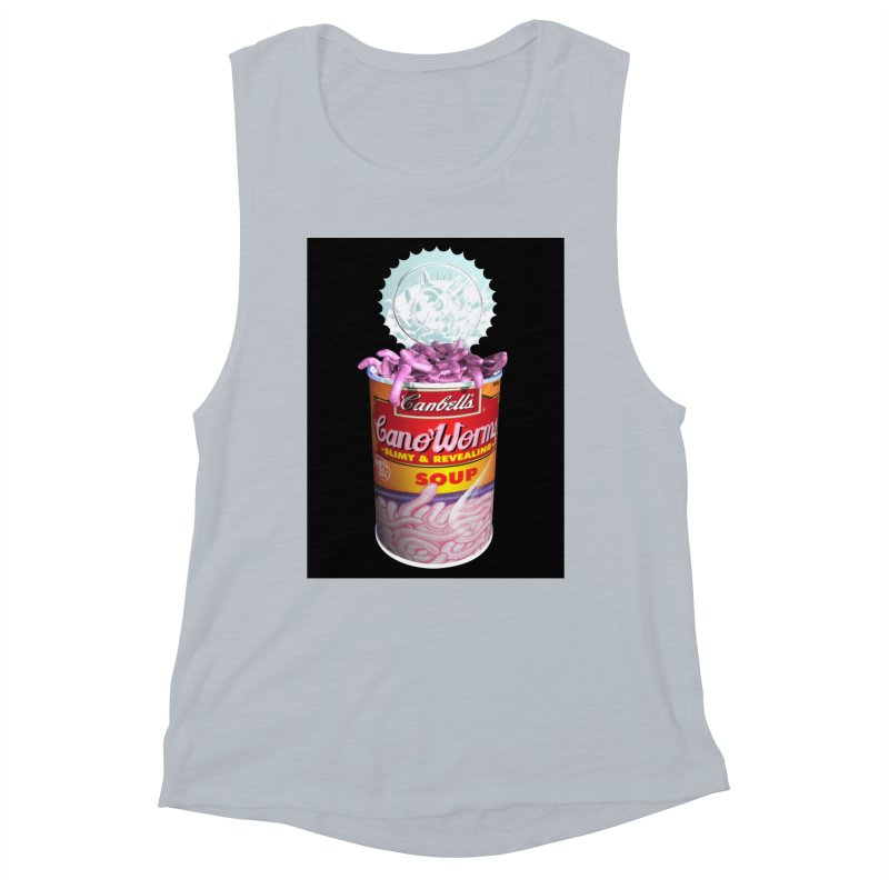 Can o' Worms Women's Muscle Tank by philscarr's Artist Shop