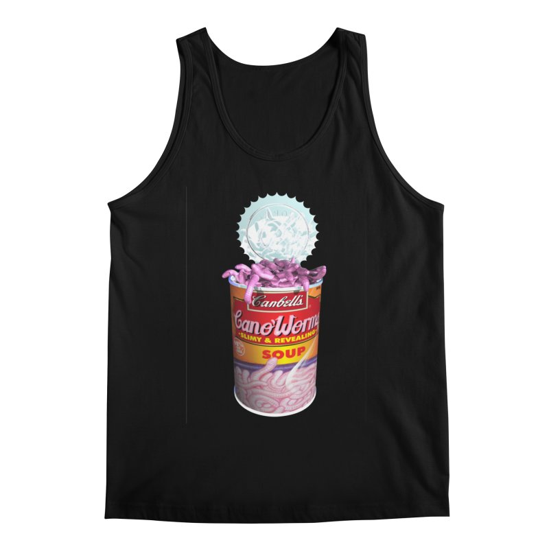 Can o' Worms Men's Regular Tank by philscarr's Artist Shop
