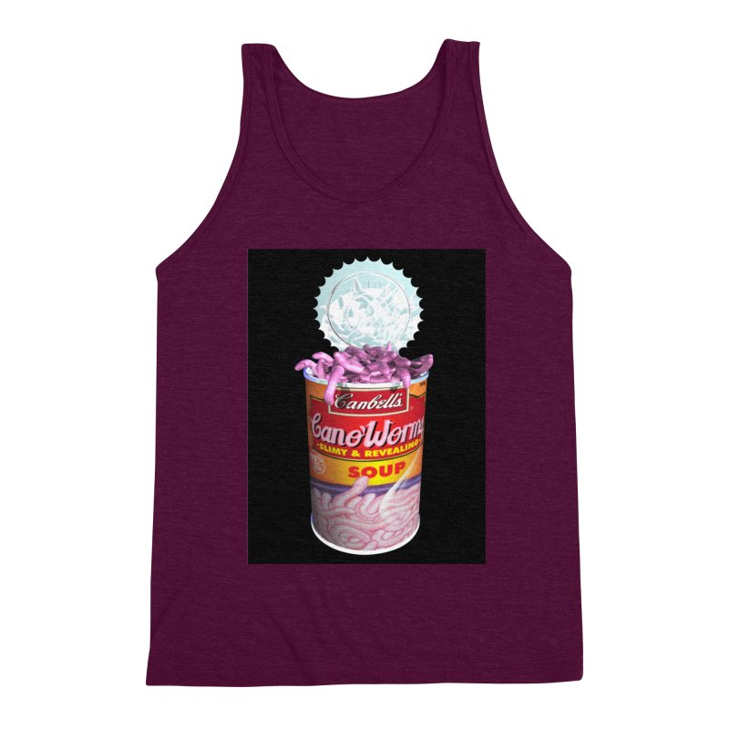 Can o' Worms Men's Triblend Tank by philscarr's Artist Shop