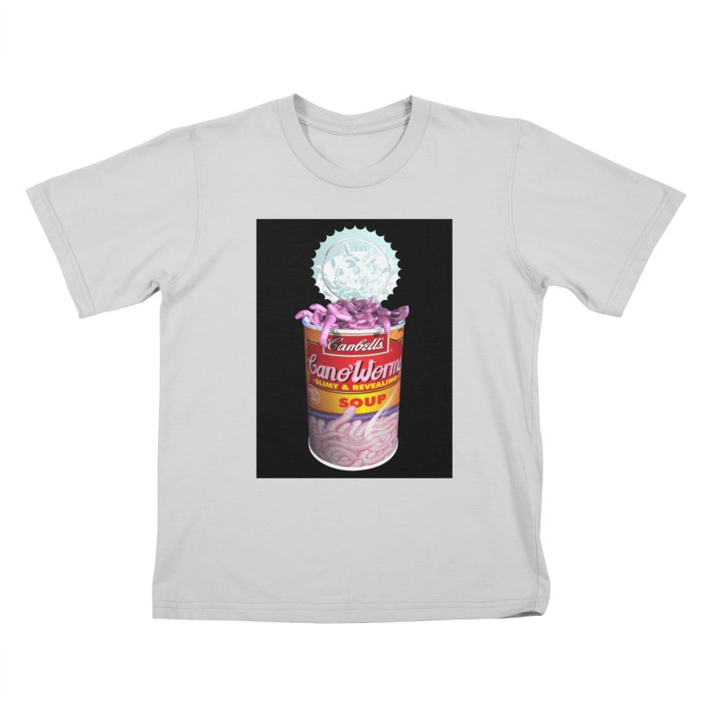 Can o' Worms Kids T-Shirt by philscarr's Artist Shop