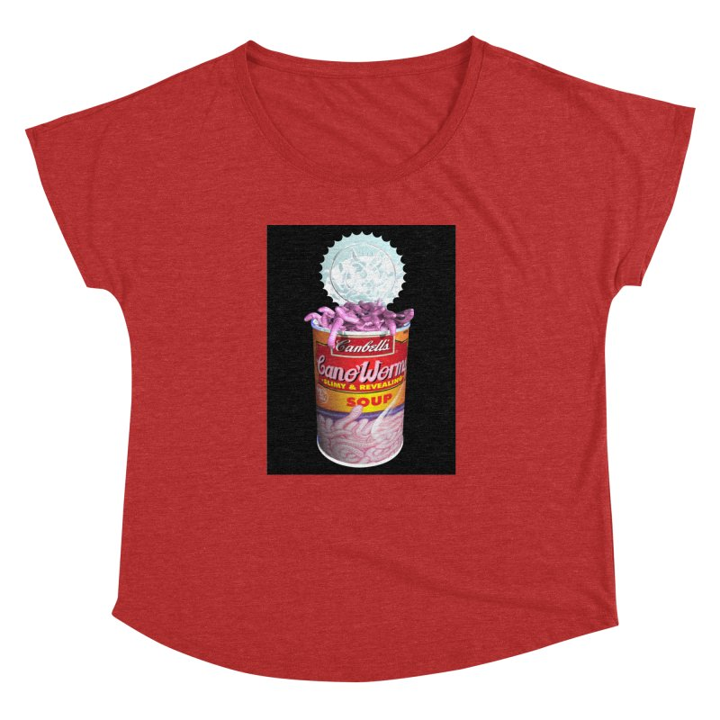 Can o' Worms Women's Dolman Scoop Neck by philscarr's Artist Shop