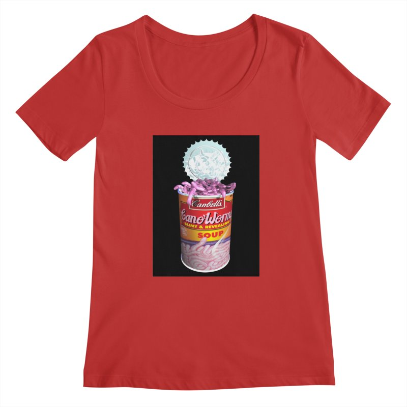 Can o' Worms Women's Regular Scoop Neck by philscarr's Artist Shop
