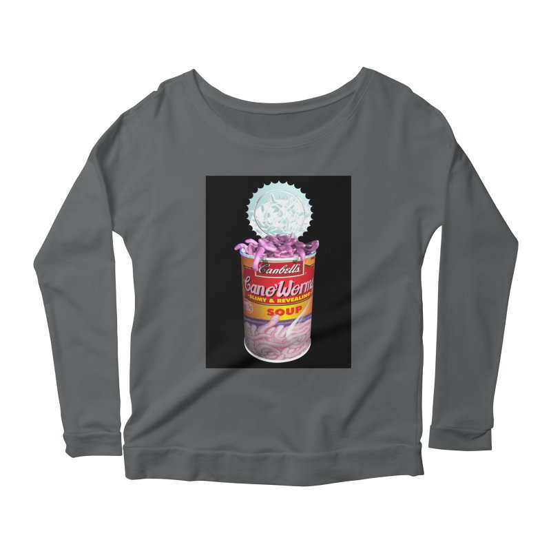 Can o' Worms Women's Scoop Neck Longsleeve T-Shirt by philscarr's Artist Shop