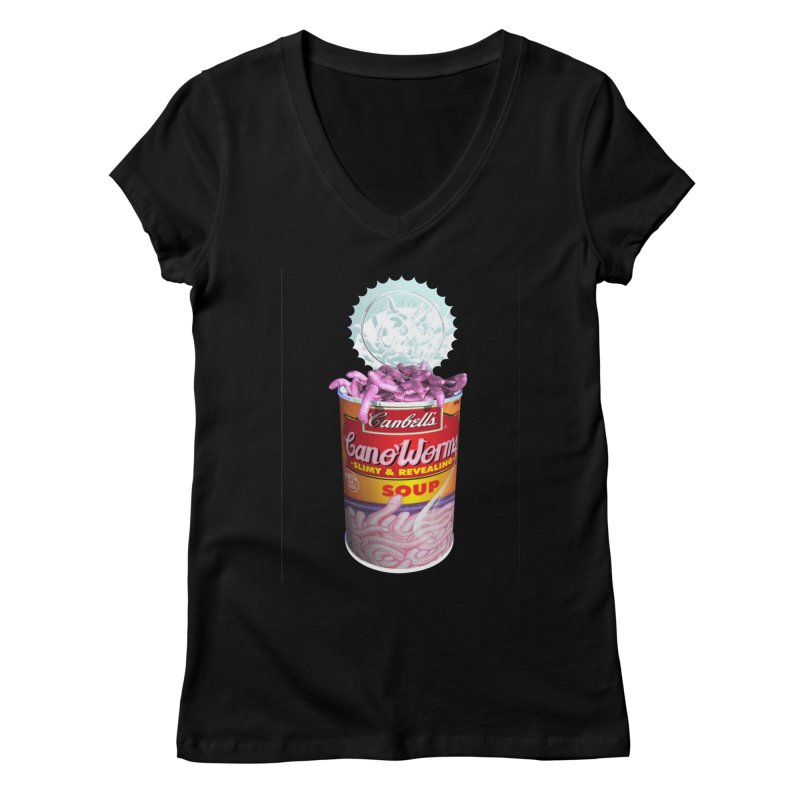 Can o' Worms Women's V-Neck by philscarr's Artist Shop