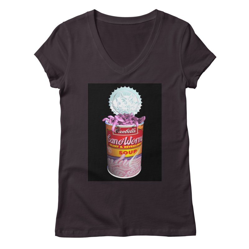 Can o' Worms Women's Regular V-Neck by philscarr's Artist Shop