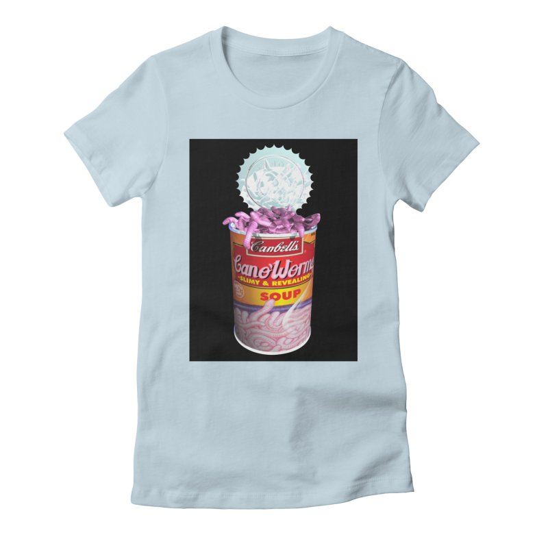 Can o' Worms Women's T-Shirt by philscarr's Artist Shop