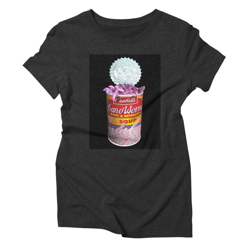 Can o' Worms Women's Triblend T-Shirt by philscarr's Artist Shop