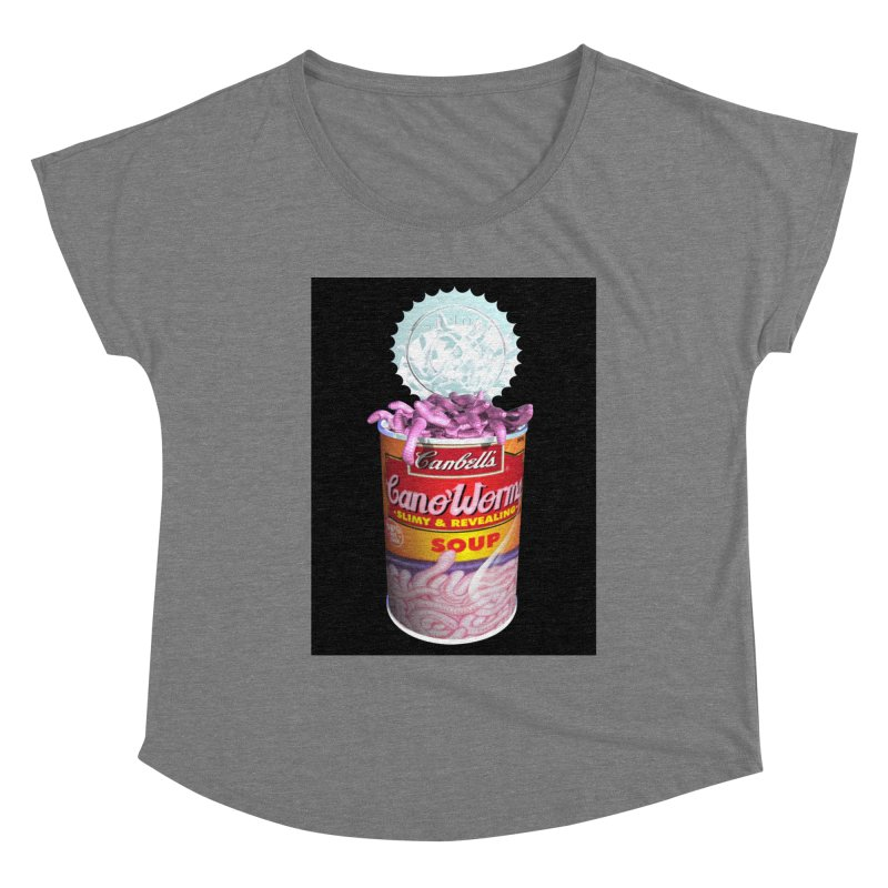 Can o' Worms Women's Scoop Neck by philscarr's Artist Shop