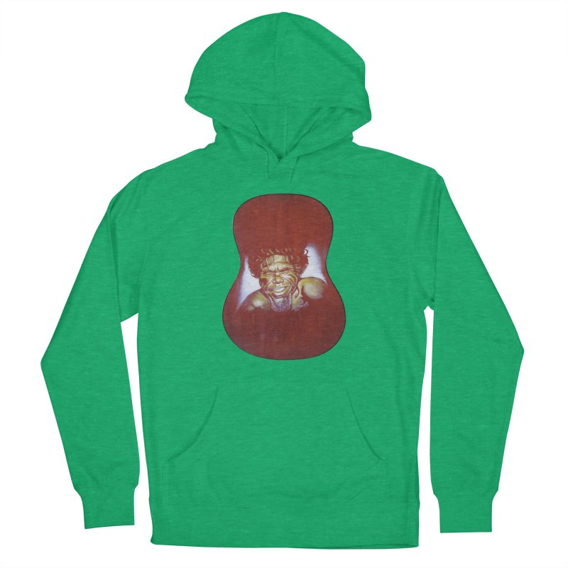 Aboriginal Women's French Terry Pullover Hoody by philscarr's Artist Shop