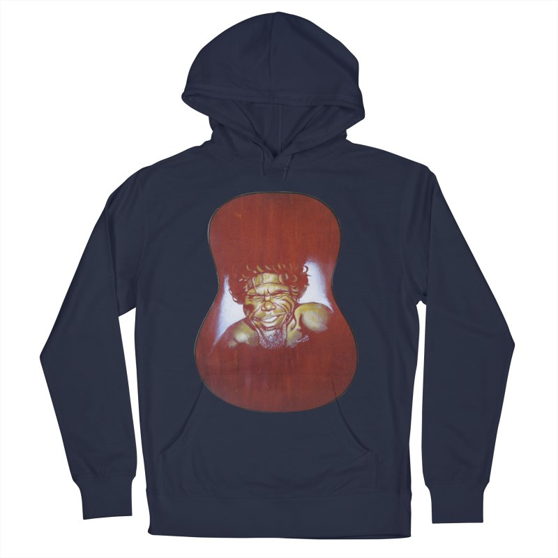 Aboriginal Men's French Terry Pullover Hoody by philscarr's Artist Shop