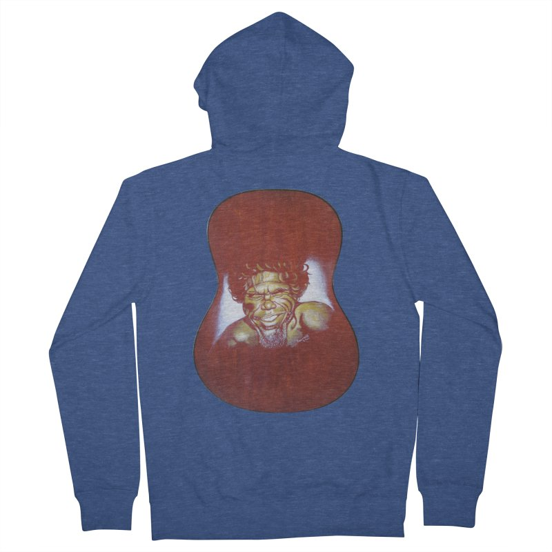 Aboriginal Women's French Terry Zip-Up Hoody by philscarr's Artist Shop