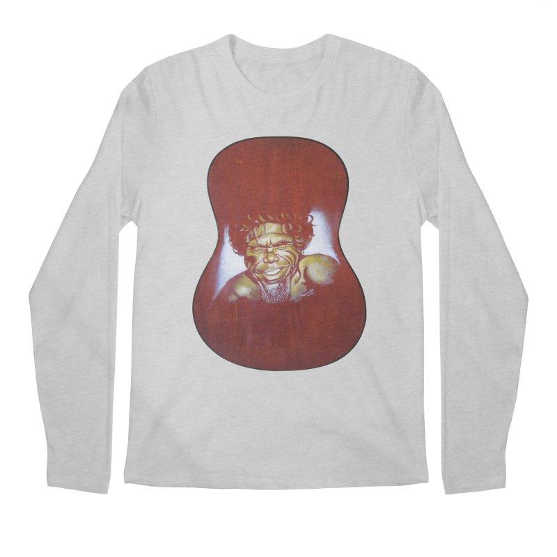 Aboriginal Men's Regular Longsleeve T-Shirt by philscarr's Artist Shop