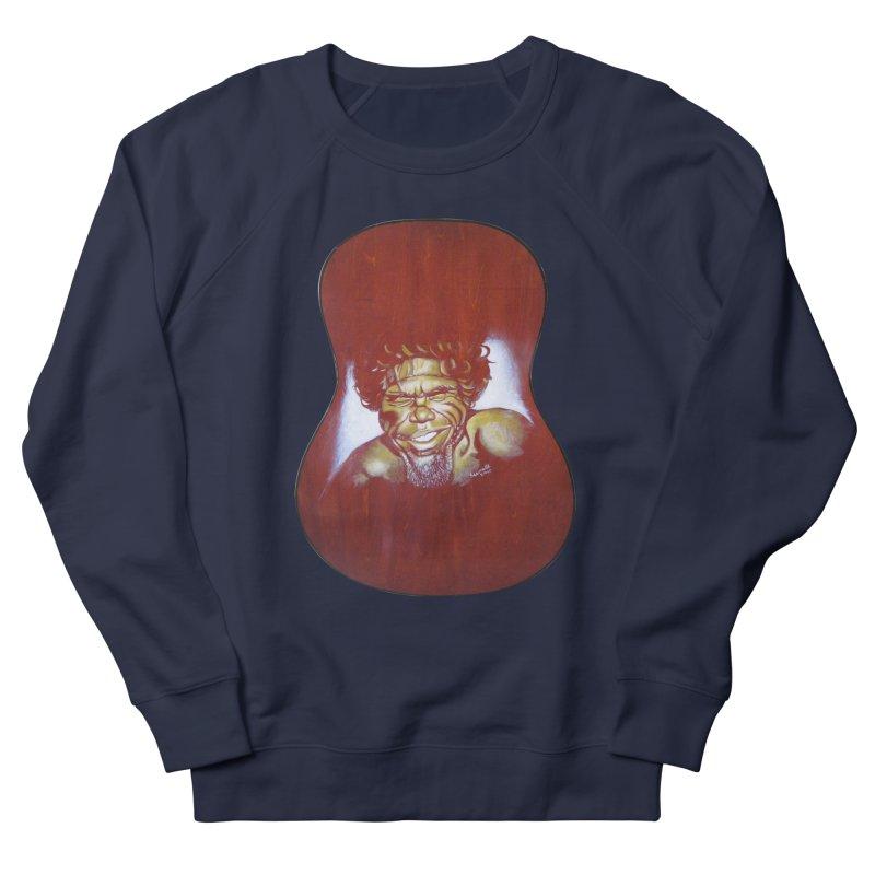 Aboriginal Women's French Terry Sweatshirt by philscarr's Artist Shop