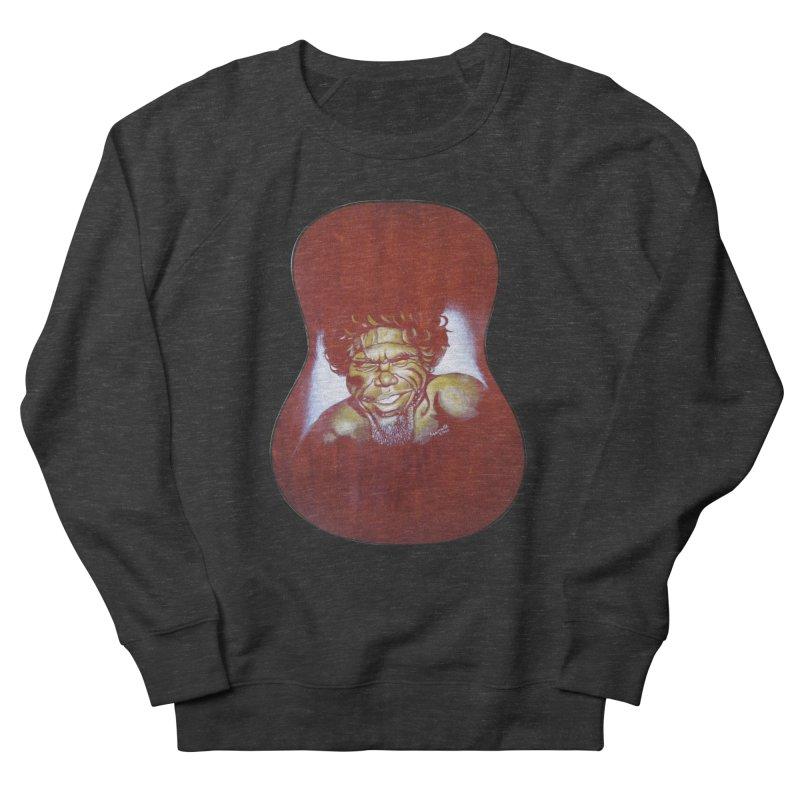 Aboriginal Men's French Terry Sweatshirt by philscarr's Artist Shop