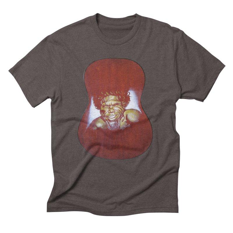 Aboriginal Men's Triblend T-Shirt by philscarr's Artist Shop