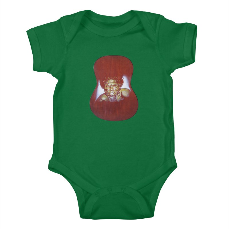 Aboriginal Kids Baby Bodysuit by philscarr's Artist Shop