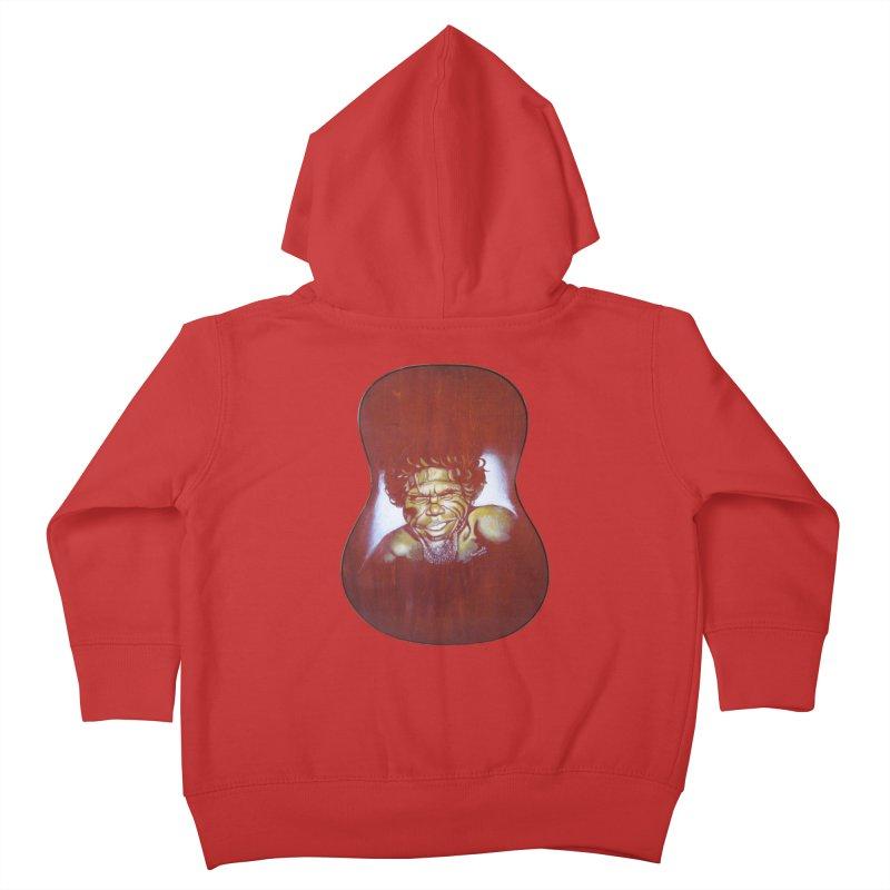 Aboriginal Kids Toddler Zip-Up Hoody by philscarr's Artist Shop