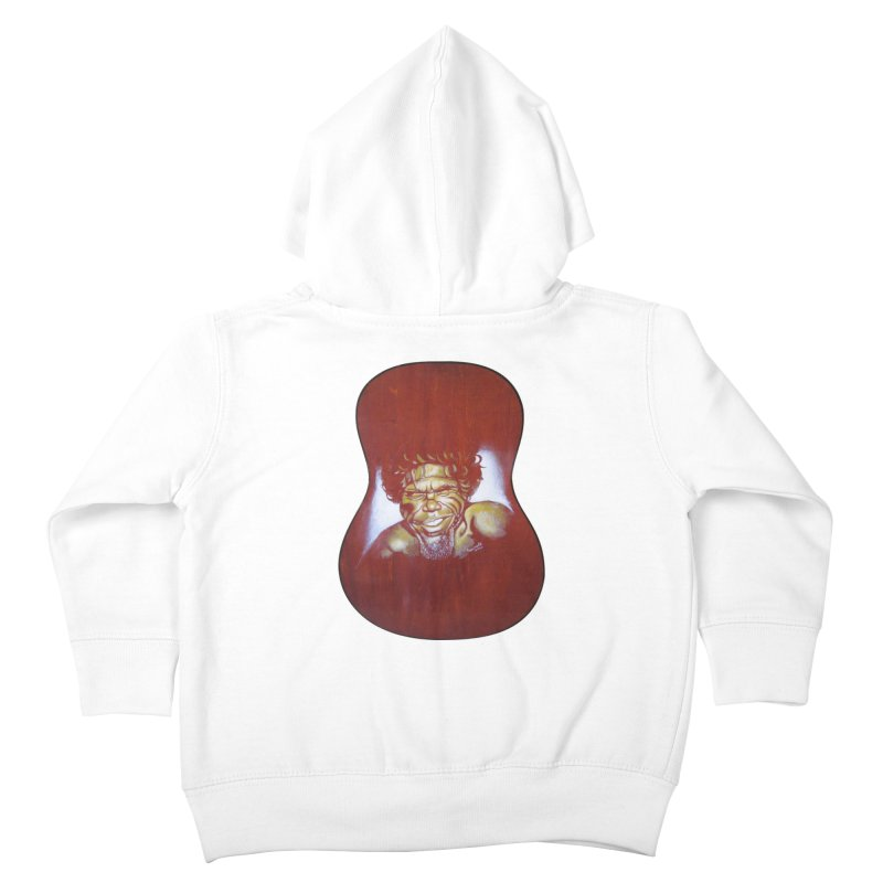 Aboriginal Kids Toddler Zip-Up Hoody by philscarr's Artist Shop