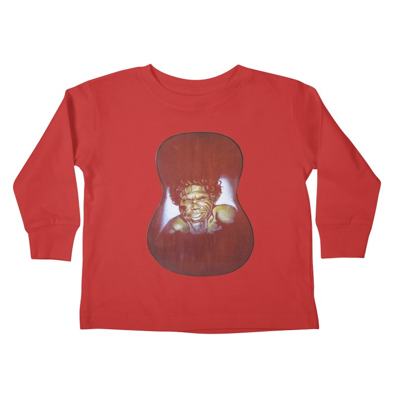 Aboriginal Kids Toddler Longsleeve T-Shirt by philscarr's Artist Shop
