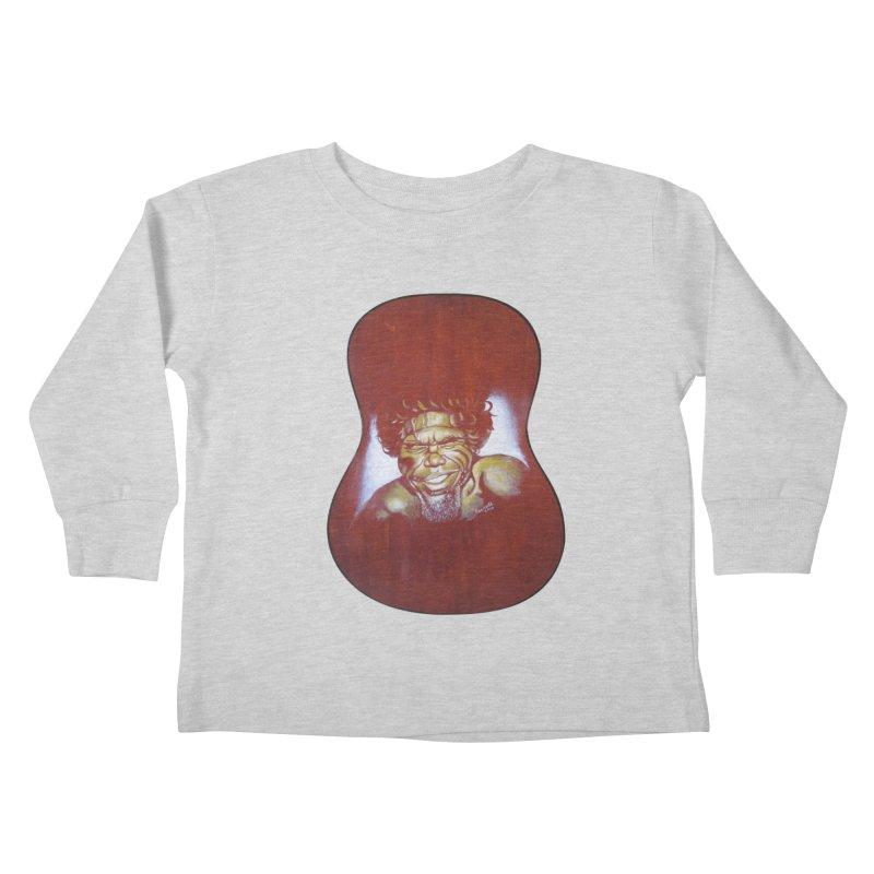 Aboriginal Kids Toddler Longsleeve T-Shirt by philscarr's Artist Shop