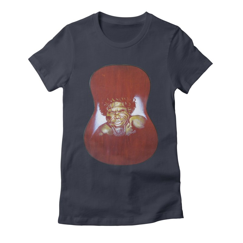 Aboriginal Women's Fitted T-Shirt by philscarr's Artist Shop