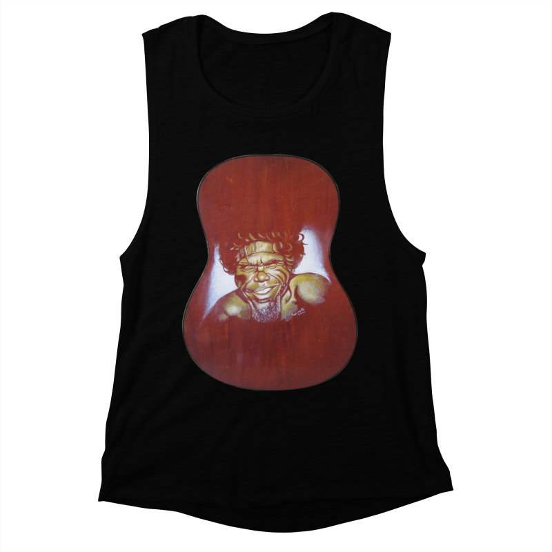 Aboriginal Women's Muscle Tank by philscarr's Artist Shop