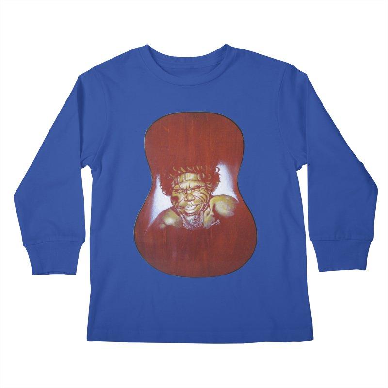Aboriginal Kids Longsleeve T-Shirt by philscarr's Artist Shop