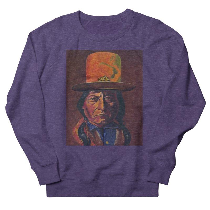 Sitting Bull (Tatanka Iyotake) Women's French Terry Sweatshirt by philscarr's Artist Shop