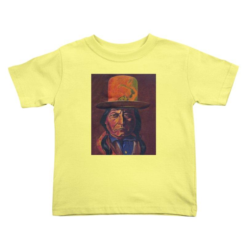 Sitting Bull (Tatanka Iyotake) Kids Toddler T-Shirt by philscarr's Artist Shop