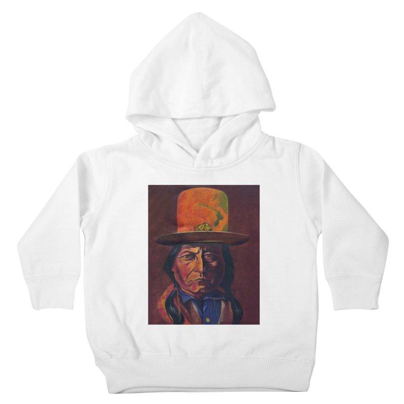 Sitting Bull (Tatanka Iyotake) Kids Toddler Pullover Hoody by philscarr's Artist Shop