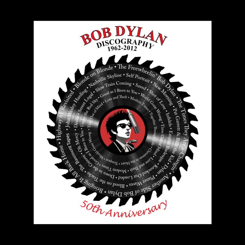Bob Dylan Men's T-Shirt by philscarr's Artist Shop