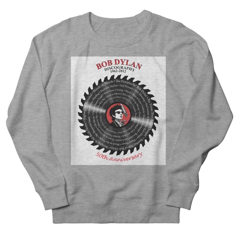 Bob Dylan Women's French Terry Sweatshirt by philscarr's Artist Shop