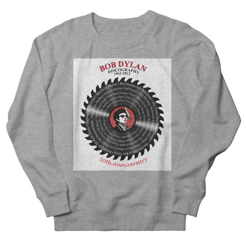 Bob Dylan Men's French Terry Sweatshirt by philscarr's Artist Shop