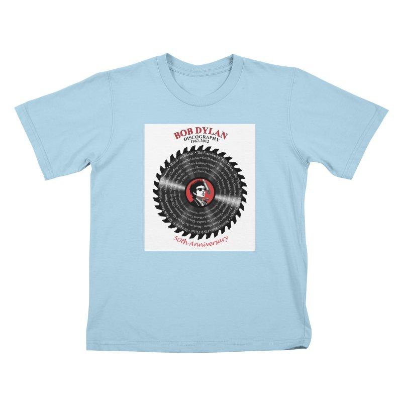 Bob Dylan Kids T-Shirt by philscarr's Artist Shop