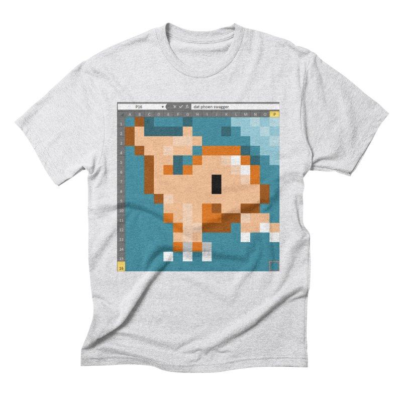 nvm Men's Triblend T-Shirt by phone's Artist Shop