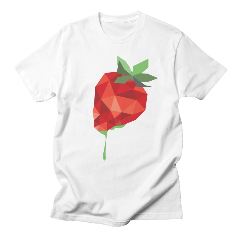 Strawberry Forever Men's T-shirt by phone's Artist Shop