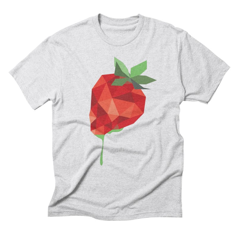 Strawberry Forever Men's Triblend T-shirt by phone's Artist Shop