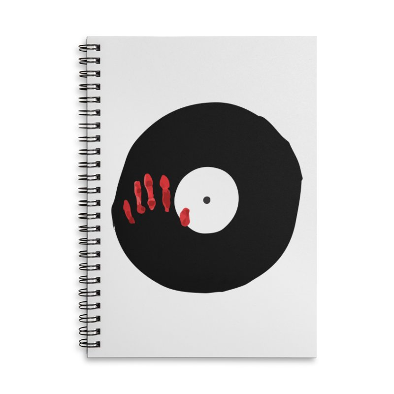 Fingerz Accessories Lined Spiral Notebook by Animalanima Shop