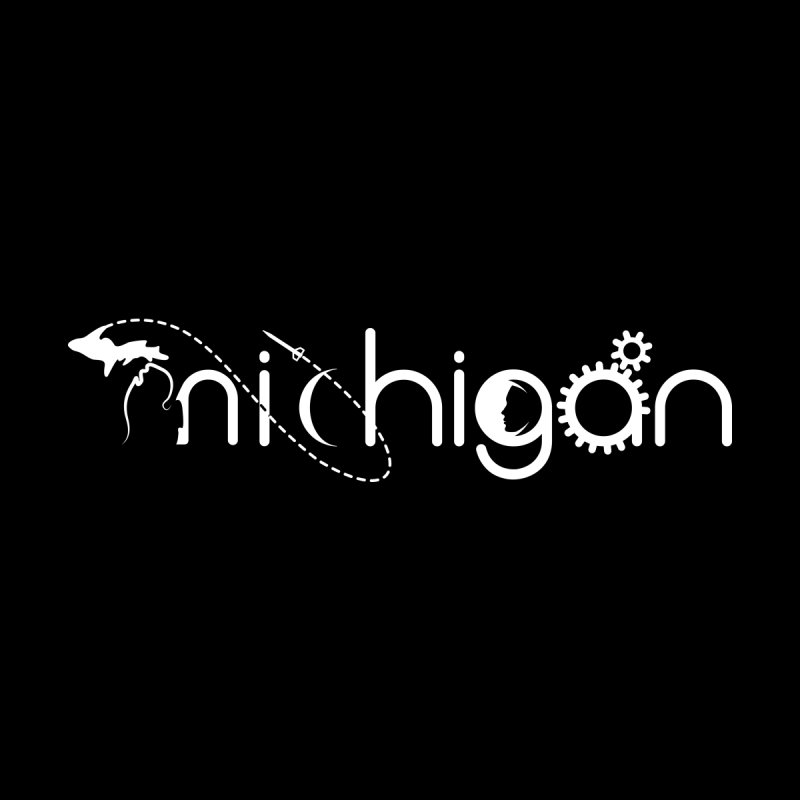 Space by State: Michigan Women's Longsleeve T-Shirt by Photon Illustration's Artist Shop