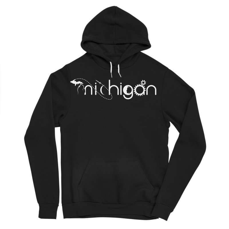 Space by State: Michigan Women's Pullover Hoody by Photon Illustration's Artist Shop