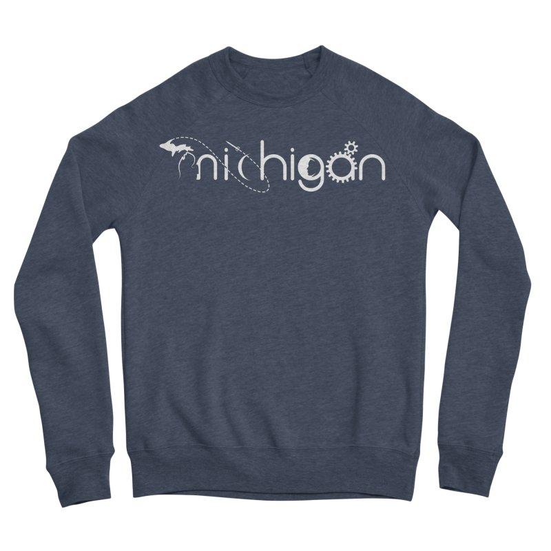 Space by State: Michigan Women's Sponge Fleece Sweatshirt by Photon Illustration's Artist Shop