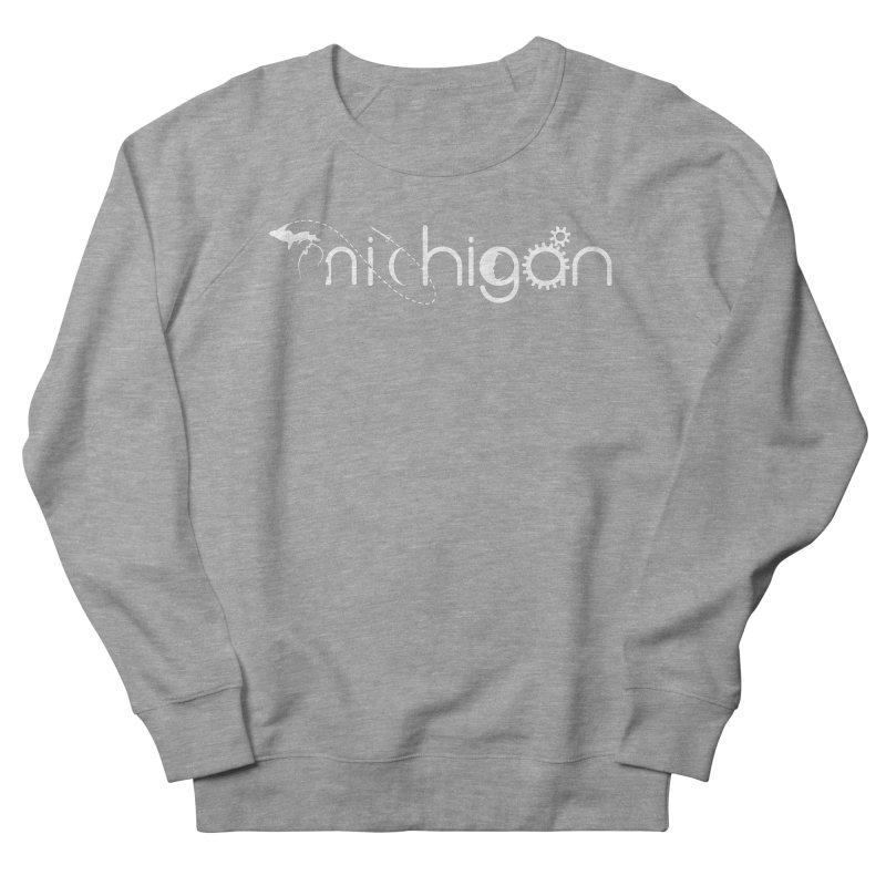 Space by State: Michigan Women's French Terry Sweatshirt by Photon Illustration's Artist Shop