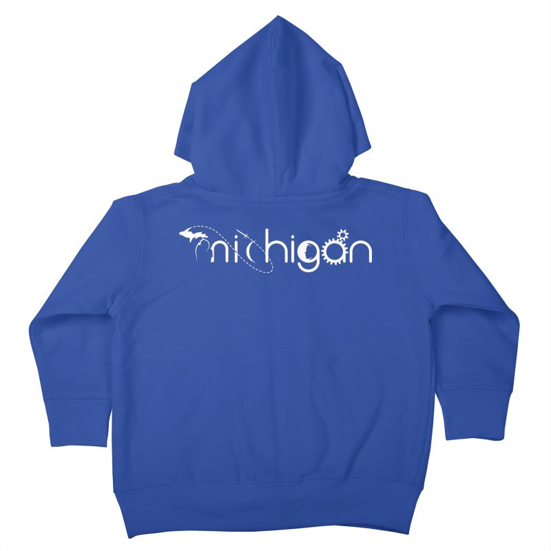 Space by State: Michigan Kids Toddler Zip-Up Hoody by Photon Illustration's Artist Shop